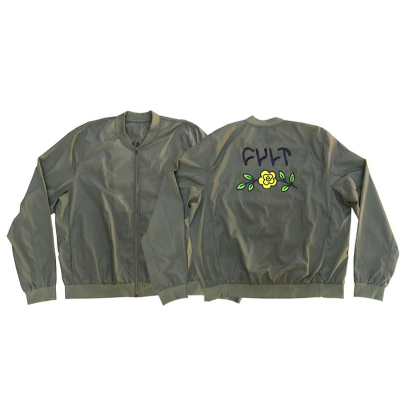 the latest 841fd 81032 Cult IN BLOOM Lightweight Bomber Jacke