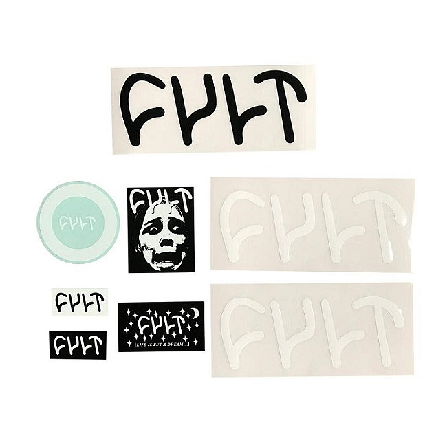 Cult ASSORTED Sticker Pack