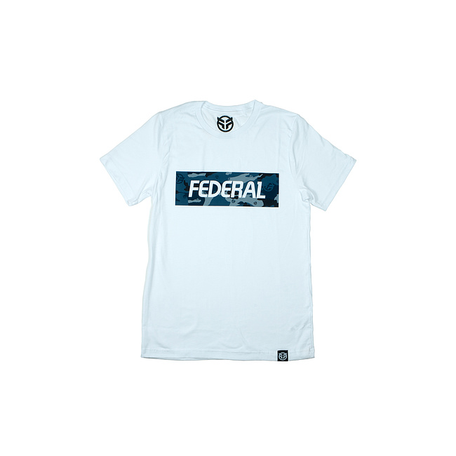 Federal BLUE CAMO T-Shirt weiss M