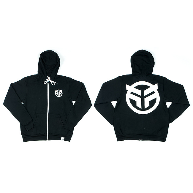 Federal LOGO Hooded Zipper