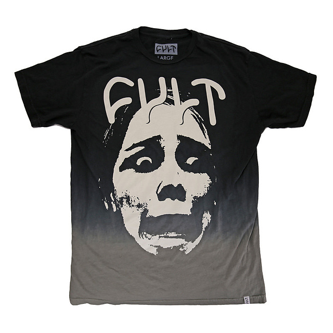 Cult DIP DYE FACE T-Shirt