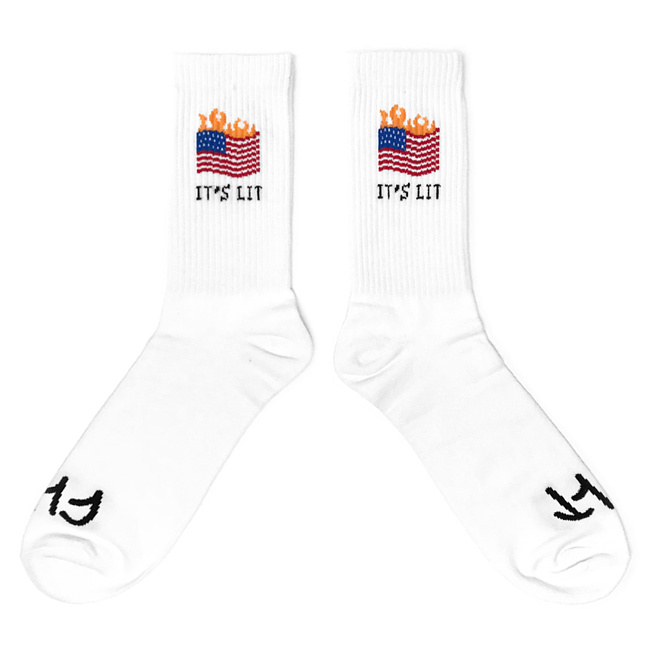Cult IT'S LIT Socken weiss one size fits most