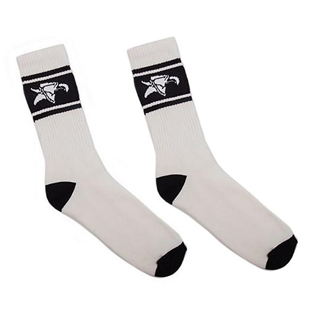 Animal LOGO Socken weiss/schwarz one size fits most