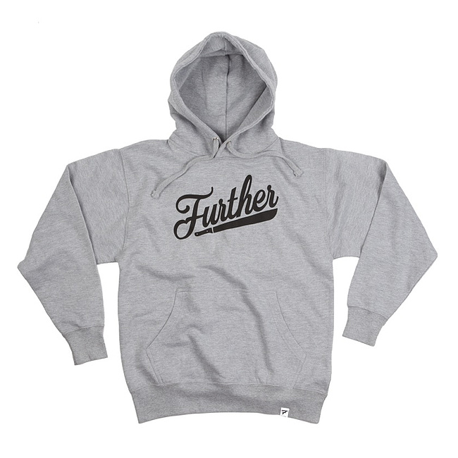 Further MACHETE Hooded Sweater grau XL