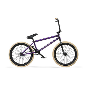 wethepeople 2018 REASON FC Komplettrad matt transparent lila 20.75'' Freecoasternabe