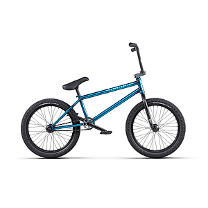 wethepeople 2020 CRYSIS Komplettrad matt transparent teal 21''