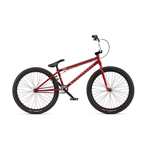 wethepeople 2017 THE ATLAS 24 Komplettrad metallic rot 22'' Kassettennabe