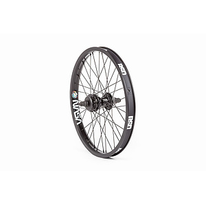 BSD AERO PRO/WEST COASTER Hinterrad schwarz 20'' straight Regular Axle Freecoasternabe LSD incl. Hubg