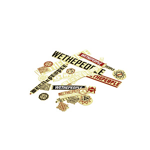 wethepeople STICKER Sticker Set various