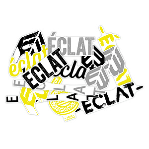 éclat FRAME Sticker Set diverse