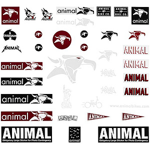 Animal STICKER PACK Sticker Set diverse
