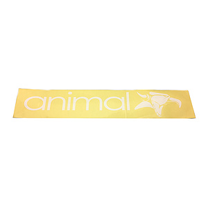 Animal WINDOW Sticker weiss