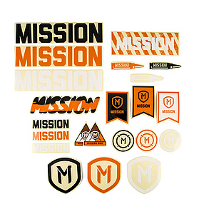 Mission ASSORTED Sticker Pack