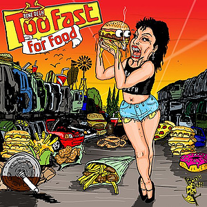Bone Deth TOO FAST FOR FOOD DVD