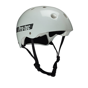 ProTec CLASSIC Helm weiss L (58-60cm)