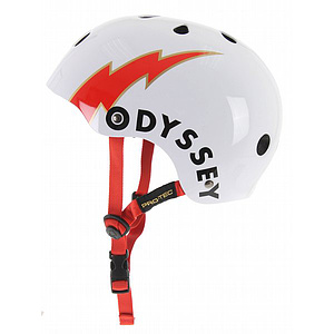 ProTec CLASSIC ODYSSEY Helm weiss/rot XL (60-62cm)