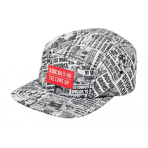 Subrosa X THE COME UP COLLABORATION CAMP Cap schwarz/weiss größenverstellbar