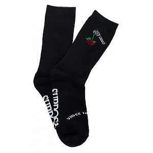 Subrosa UNDER THE ROSE Socken schwarz one size fits most