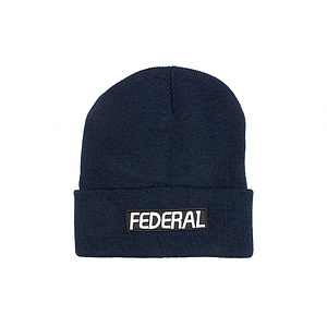 Federal LOGO Beanie navy one size fits most