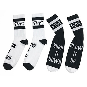 Cult BURN IT DOWN Socken