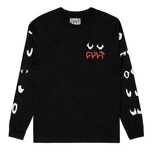 Cult WE DA PPL 2 Longsleeve schwarz L