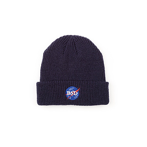 BSD SPACE AGENCY Beanie navy one size fits most