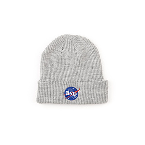 BSD SPACE AGENCY Beanie grau one size fits most