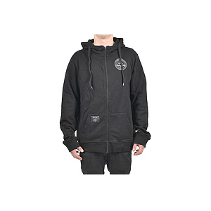 éclat PATCH Hooded Zipper schwarz S