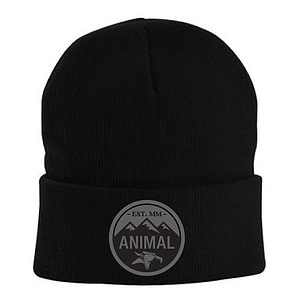 Animal MOUNTAIN TOP Beanie schwarz one size fits most