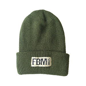 FBM BRAND Beanie grün one size fits most