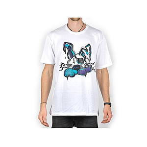 The Trip 1000 BEANS COLLAB T-Shirt weiss XL
