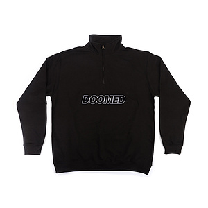Doomed HALF ZIP V2 Half Zip Sweater